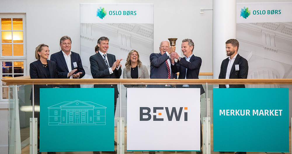 BEWi admitted to trading