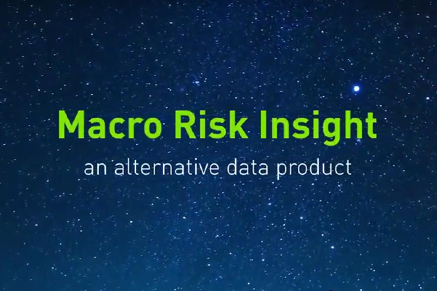 Macro Risk Insight