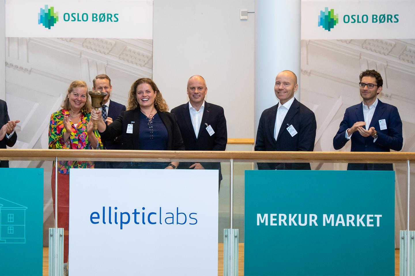 Elliptic Labs admitted to trading on Merkur Market