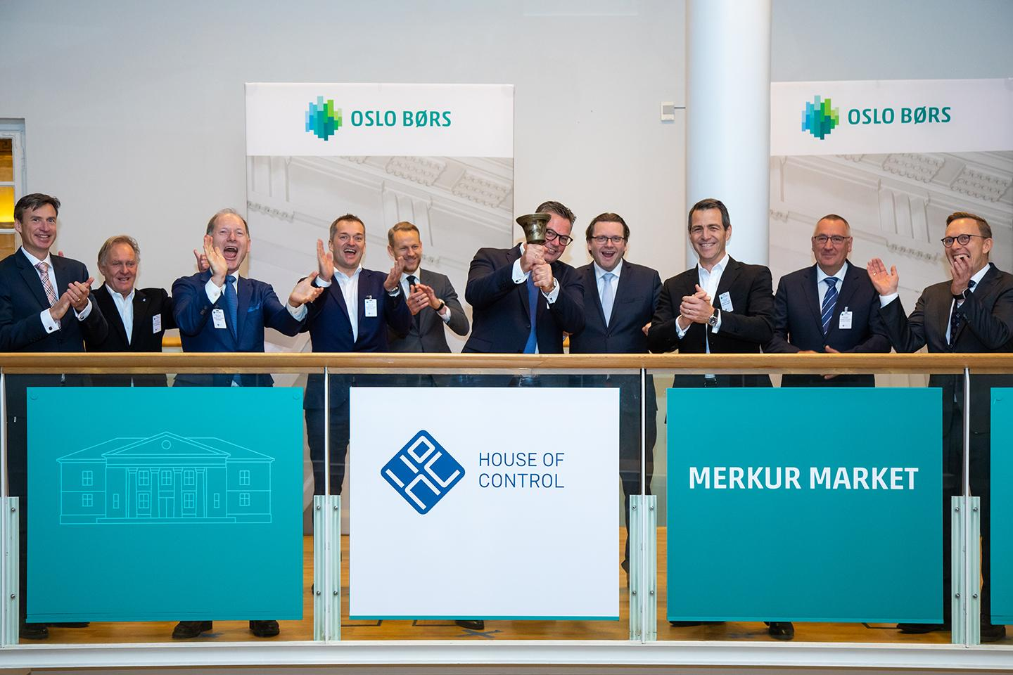 House of Control admitted to trading on Merkur Market