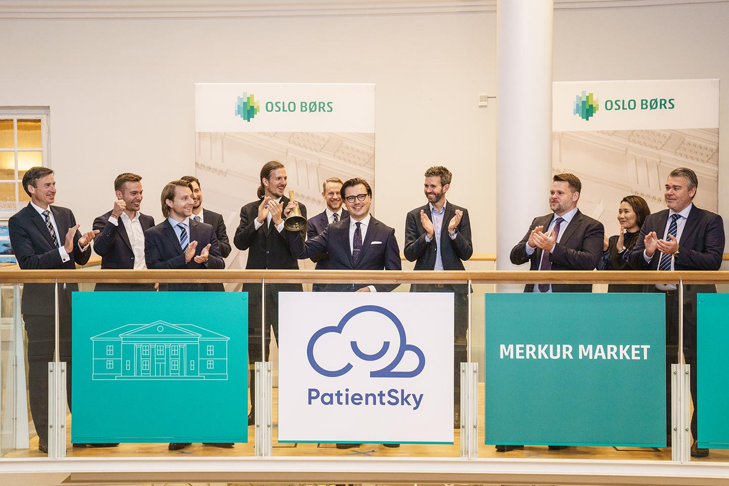 PatientSky admitted to trading on Merkur Market