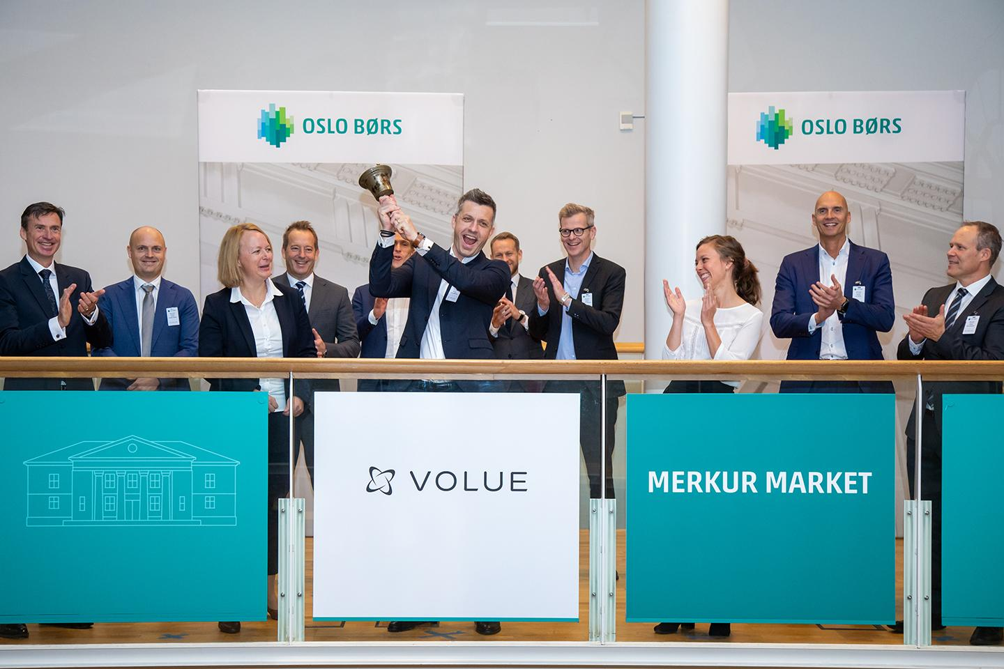 Volue admitted to trading on Merkur Market