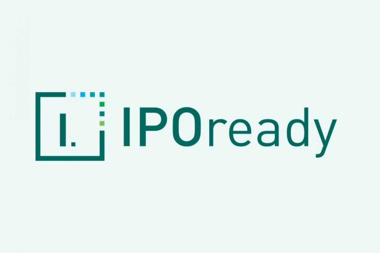 IPOready logo green 3x2 ratio