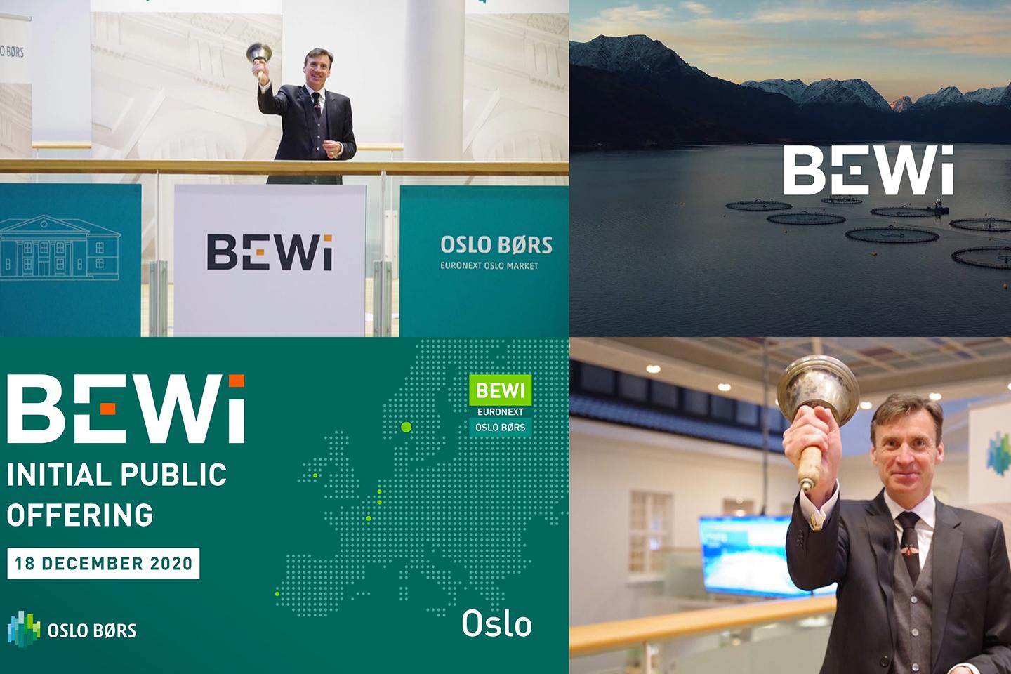 BEWi listed on Oslo Børs