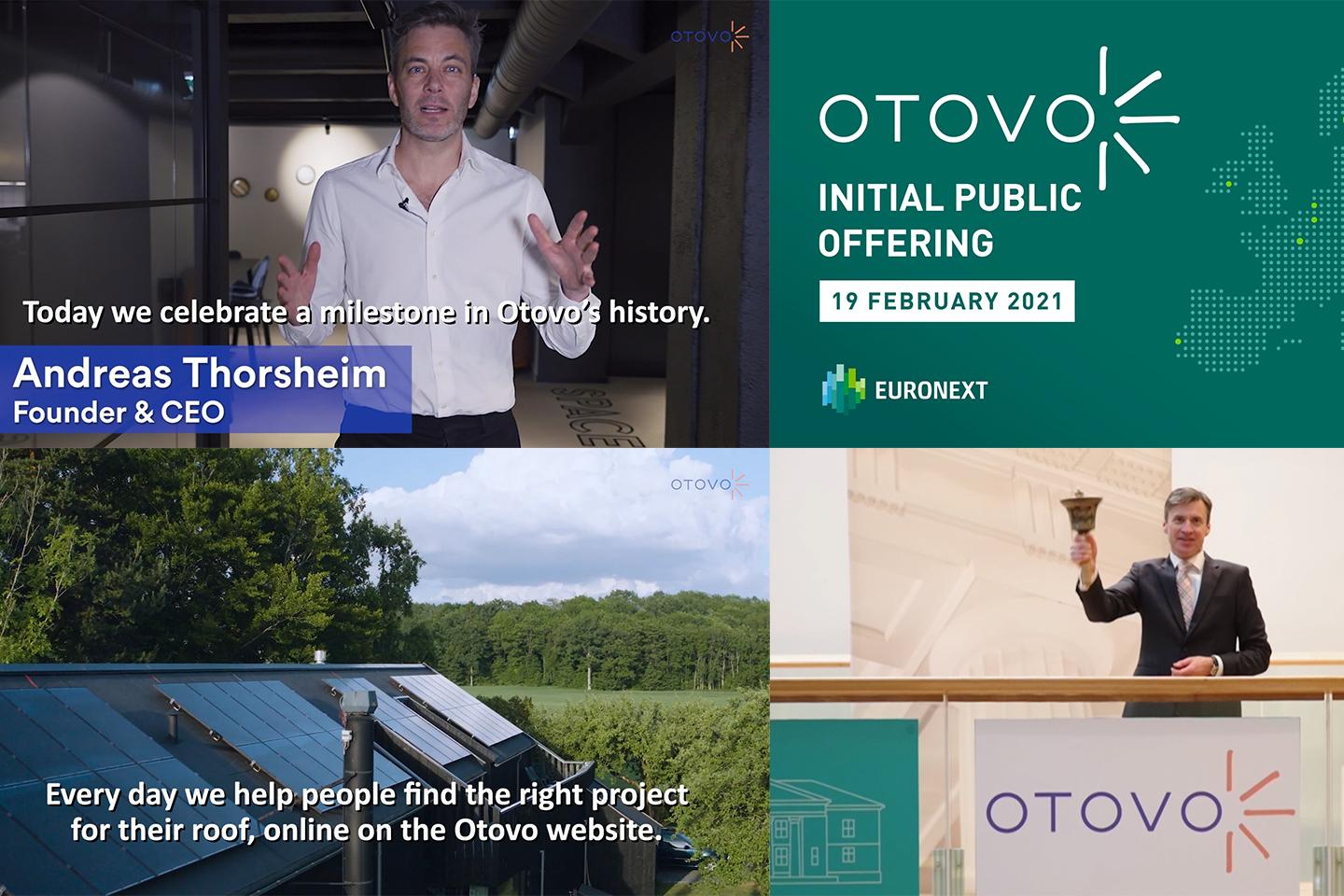 Otovo admitted to trading on Euronext Growth Oslo