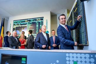 Titan Cement International lists on Euronext Brussels and Euronext Paris