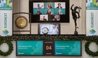 Euronext Amsterdam - Happy New Year