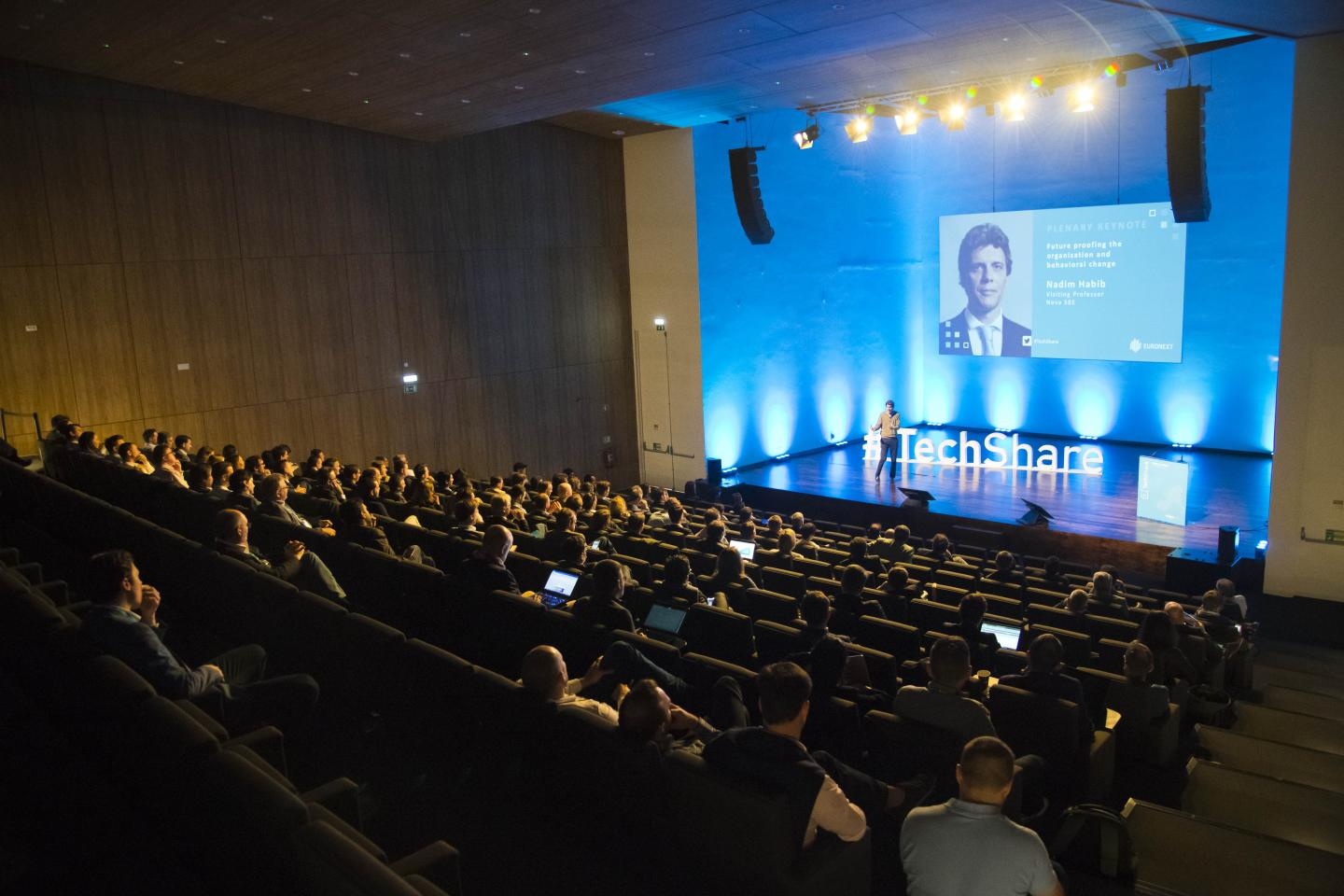 TechShare 2019 stage